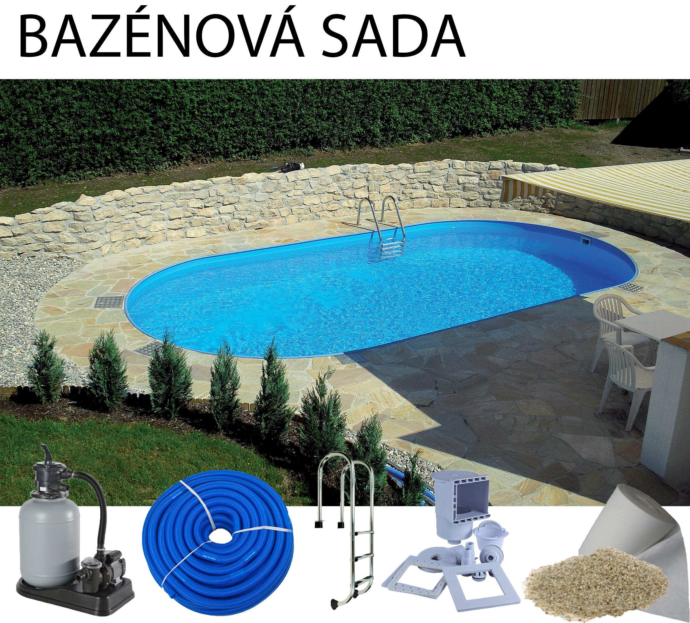 Hobbypool Toscana 900 Zapustený Oválny Bazén 9 X 5 X 15 M